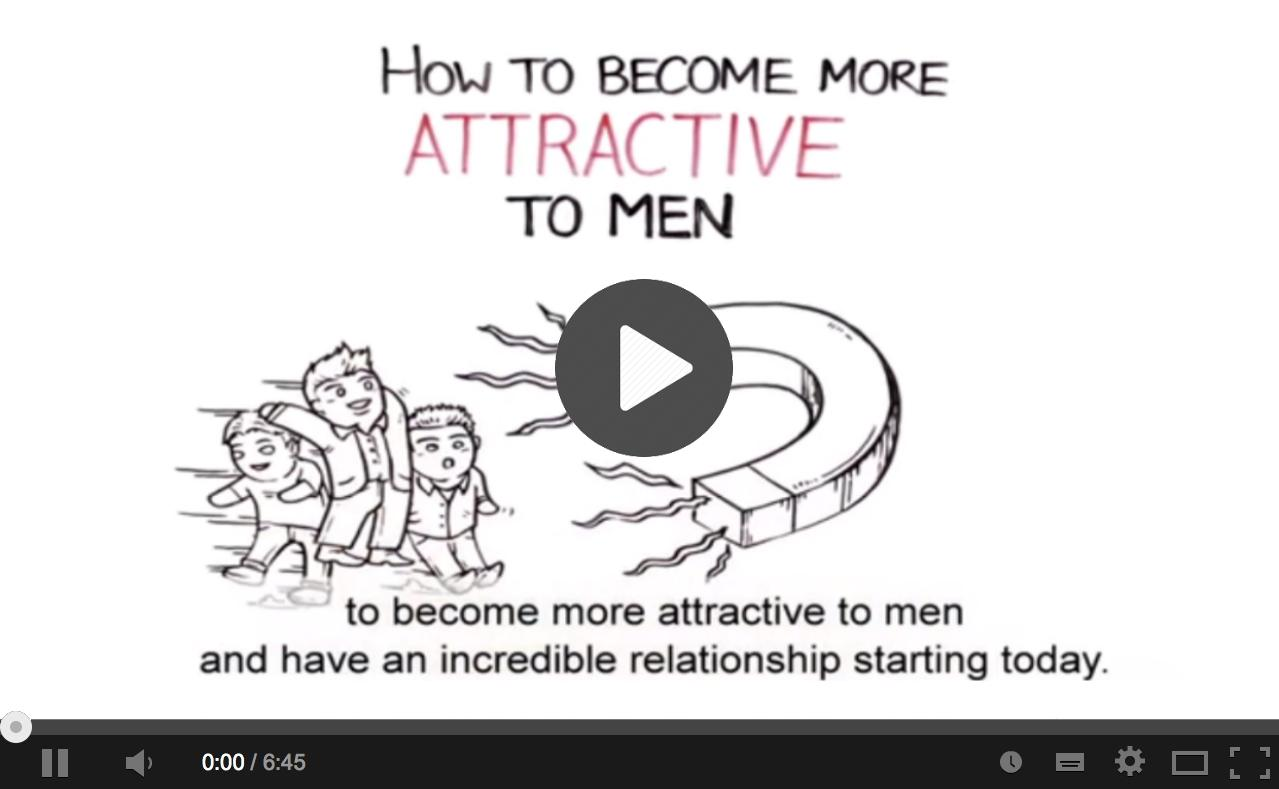 free video presentation on becoming incredibly attractive to men