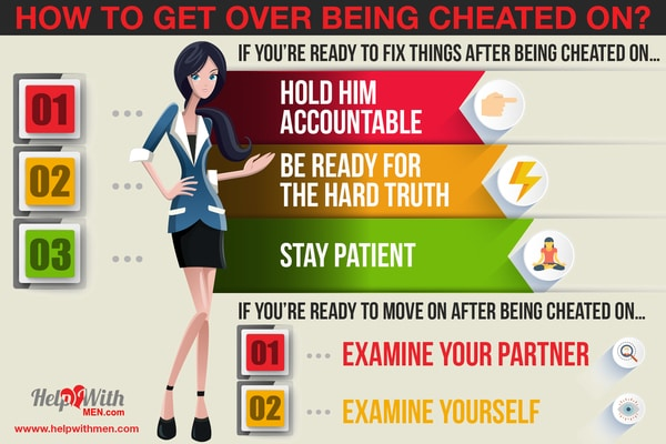 woman teaching how women can get over being cheated on