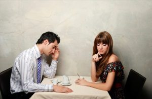 image of man with woman her wondering how to make him worry about losing you