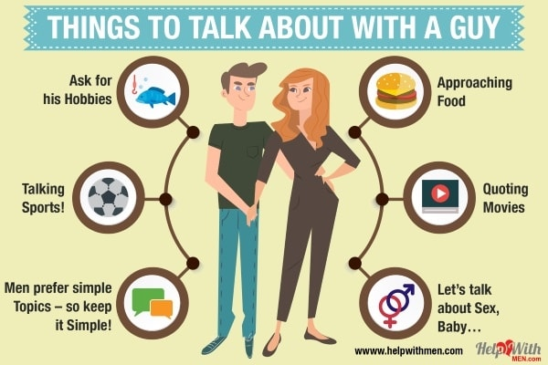 What to Talk about with a Guy - 7 Great, Easy Topics | Help